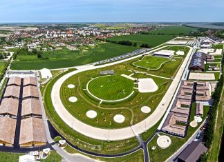 the X-Bionic Sphere, Samorin – Slovakia
