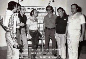 Marcelo Castello Branco, Christiano Fonseca; Pedro Castello Branco, Gabriel Chagas, Gabino Cintra, Adelstano Porto d'Ave y Pedro Paulo Assumpçao.