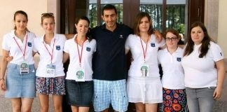French Girls team 2014
