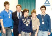 Alessandro Gandoglia, Paolo Clair, Giacomo Percario, Giovanni Donati, Giuseppe Delle Cave