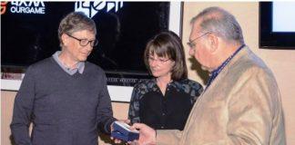 Bill Gates, Sharon Osberg & Al Levy