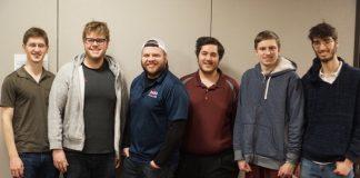Ben Kristensen, Adam Kaplan, Zack Grossack, Christian Jolly, Kevin Rosenberg, Oren Kriegel, photo by Bo Xiao