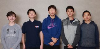 Rory Xiao-Jonathan Yue-Harrison Luba, Michael Hu-Arthur Zhou USA U16 team