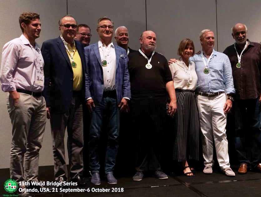 MILNER Team: Steve Garner, Michal Kwiecien, Mark Lair, Hemant Lall, Krzysztof Martens, Reese Milner, Petra Hamman (npc), Jacek Pszczola (coach)