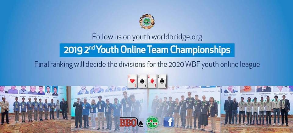 2019 2nd 2nd WBF Youth Teams Online Championships LOGO