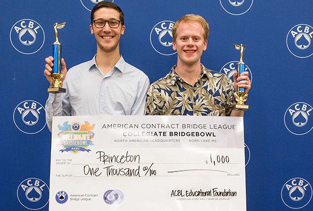 Aaron Balleisen and Nathan Finkle from Princeton University