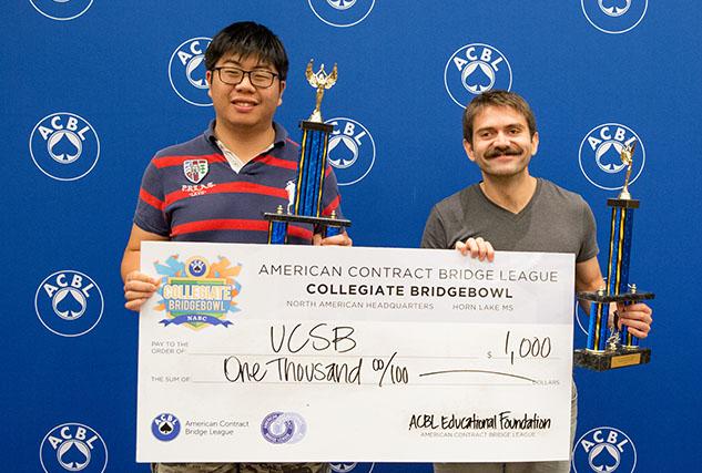 Sarp Kurgan and Danning Lu from the University of California at Santa Barbara